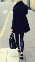 siyah deri tayt kaban çanta