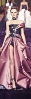 siyah gül kurusu saten straplez uzun abiye elbise versace