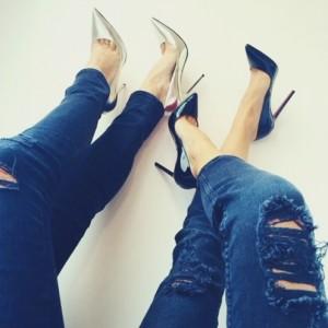 Stiletto ayakkabı nelerle kombinlenir?