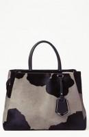 siyah gri kol çantası fendi
