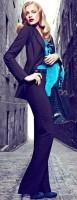 siyah kumaş pantolon blazer ceket iş kadını