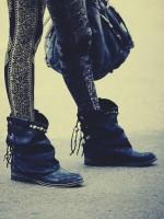 siyah nubuk zımbalı kısa bot çizme