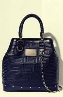 siyah zincir askılı kol çantası versace