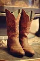 taba rengi kovboy biker bot çizme