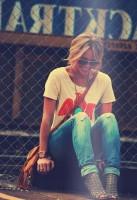 tarz yırtık kot kadın boyfriend jeans