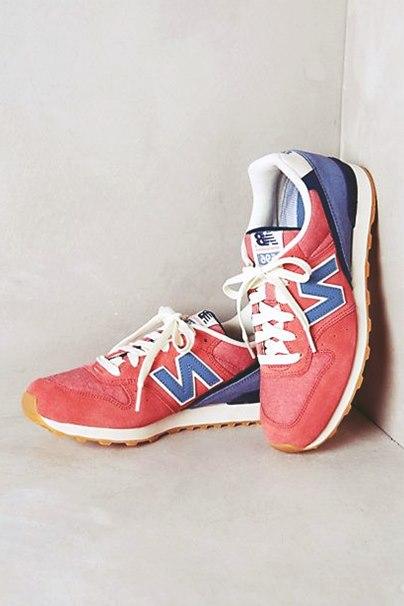turuncu mavi kadın new blance spor ayakkabı