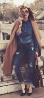yırtık kot stiletto-ayakkabı-kombini