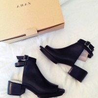 zara cut out bot boots