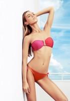 zeki triko kırmızı pembe bikini